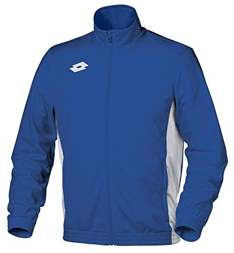 Lotto Sport Kinder Sweat Delta FZ JR Jacket, Royal/White, XXS von Lotto