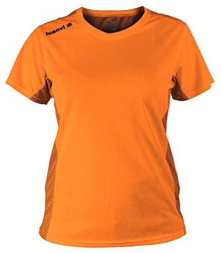 Luanvi Nocaut Plus SRA Damen-T-Shirts, 5er-Pack S Orange Leuchtend von Luanvi