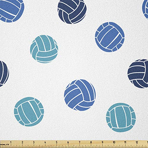 Lunarable Stretch-Strickstoff 3 Yards hellblau von Lunarable