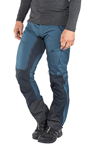 Lundhags Makke Pants Men Regular Petrol/Deep Blue Größe 56-Regular 2018 Hose lang von Lundhags