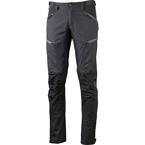 Lundhags Makke Pants Men Regular Granite/Charcoal Größe 56-Regular 2018 Hose lang von Lundhags