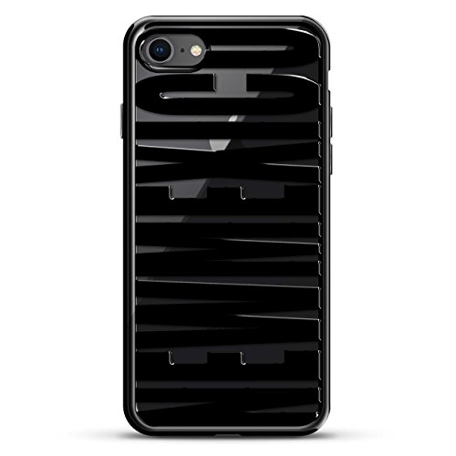 Bold Black New Mexico | Luxendary Chrome Series Designer case for iPhone 8/7 in Titanium Black Trim von Luxendary
