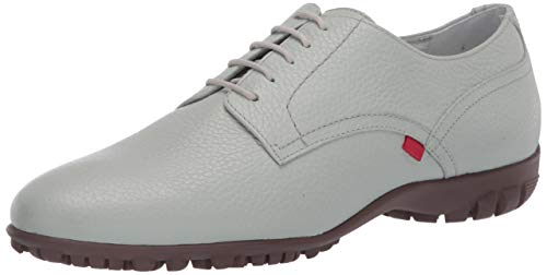 MARC JOSEPH NEW YORK Womens Leather Made in Brazil Pacific Lace Up Golf Shoe, Mint Tumbled Grainy, 5 M US von MARC JOSEPH NEW YORK