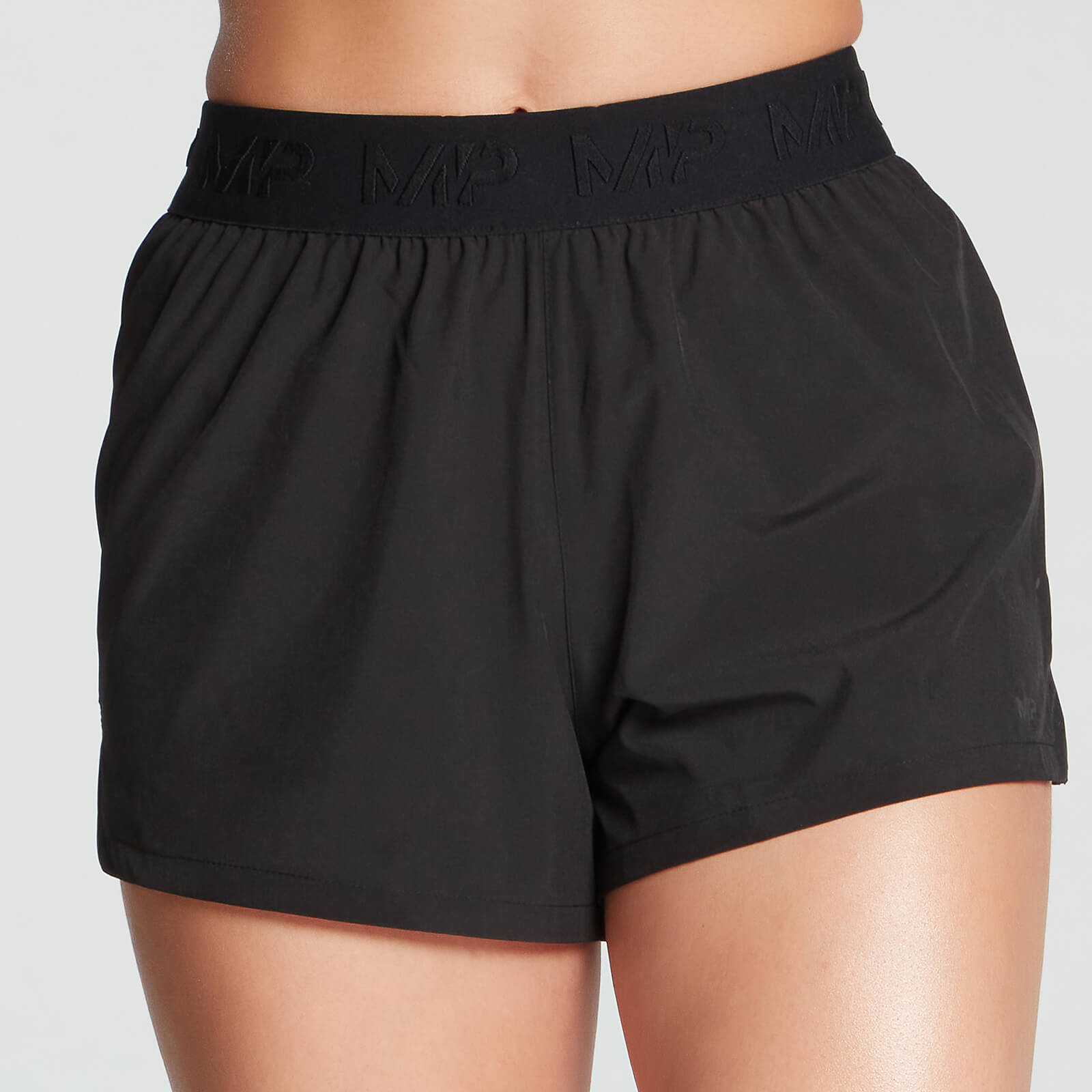 MP Damen Essentials Training Energy Shorts - Schwarz - XS von MP