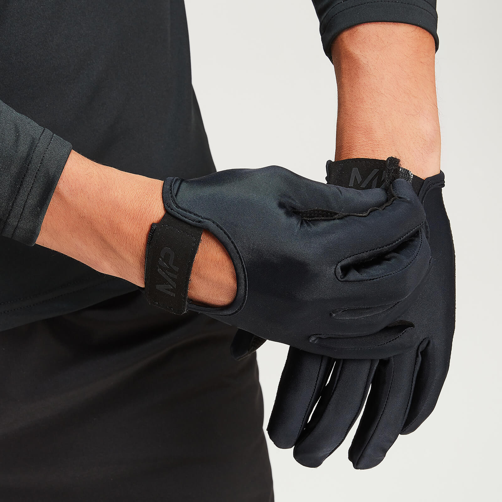 MP Men's Full Coverage Lifting Gloves - Black - L von MP