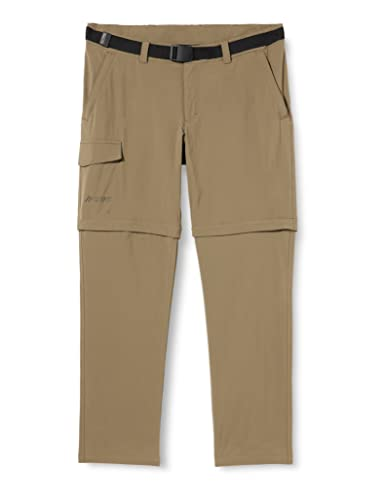 MAIER SPORTS, Herren Torid Slim Zip Hose,Grau (grey - teak), 52 von Maier Sports
