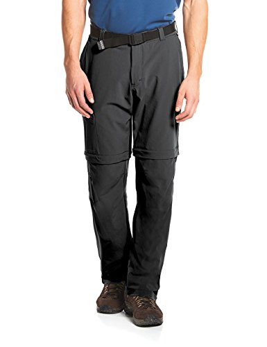 Maier Sports Herren Outdoor Hose T-zipp Tajo, Black, 94 von Maier Sports