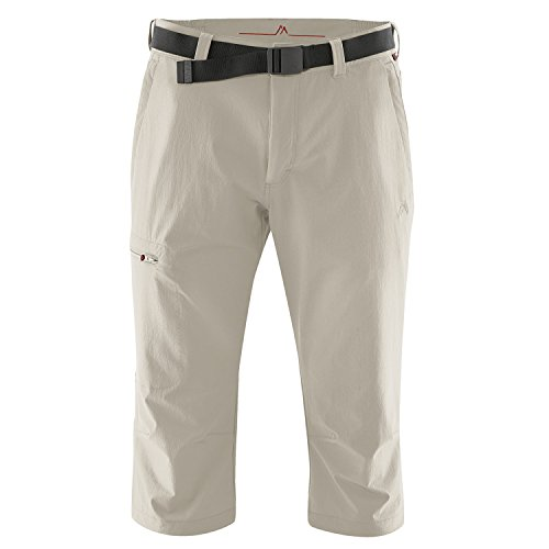 Maier Sports Herren Jennisei Capri, Beige (Feather Gray), 48 von Maier Sports