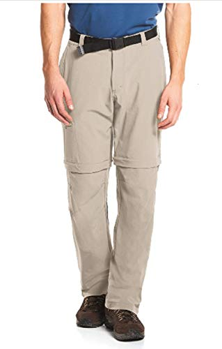 Maier Sports Herren Outdoor Hose T-zipp Tajo, Feather Gray, 29 von Maier Sports