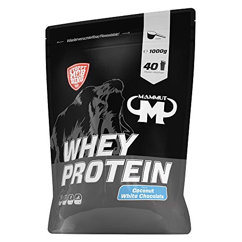 Mammut Nutrition Whey Protein Coconut White Chocolate, 1000 g von Mammut Nutrition