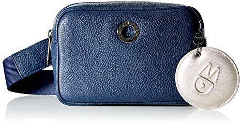 Mandarina Duck Damen MELLOW LEATHER Handtasche, Kleid Blau, Taglia Unica von Mandarina Duck
