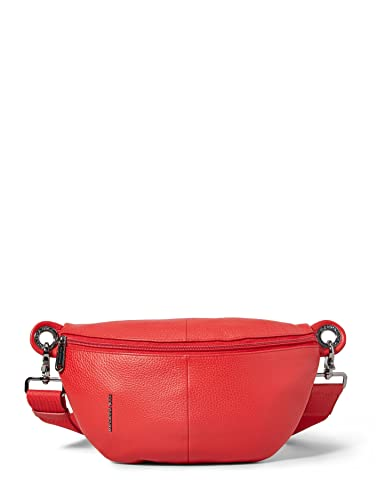 Mandarina Duck Damen Mellow Leather Bum Bag/Nero Kuriertasche, Rot (Flame Scarlet), 0.01x0.01x0.01 Centimeters (W x H x L) von Mandarina Duck