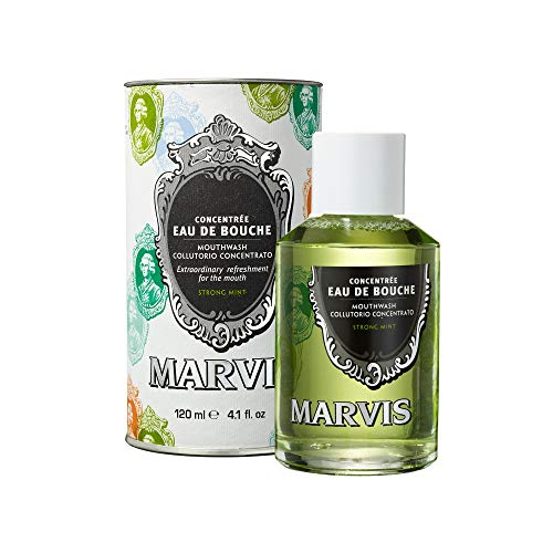 Marvis Mouthwash Strong Mint Mundwasser, (1 x 120 ml) von Marvis