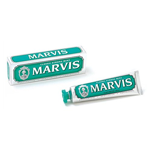 Marvis Zahncreme Classic Strong Mint, 2er Pack (2x 85ml) von Marvis