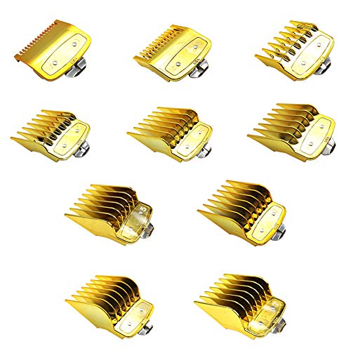 Meijunter Universal Clipper Limit Kamm für Wahl 100 Year (#81919)/8148/8504/08148 / Kemei/Babyliss - Ersatz Professional Haar Trimmer Guards 10 Stk von Meijunter
