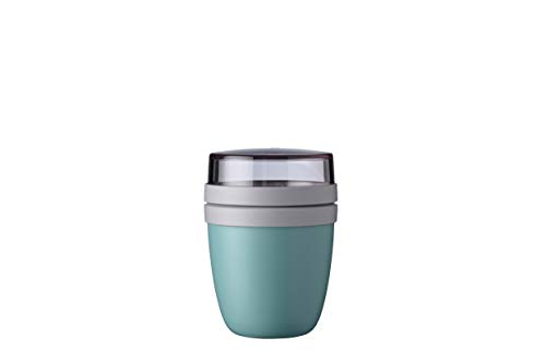 Mepal Lunchpot Ellipse Mini, PP/PCTG, Nordic Green, 1 von Mepal