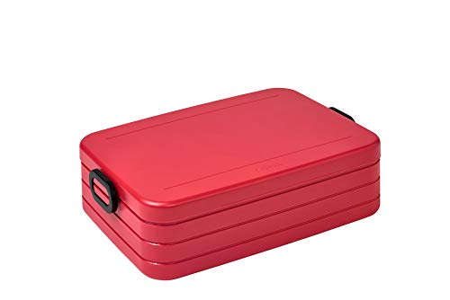Mepal Take a Break Lunchbox, abs, Nordic Red, One Size von Mepal