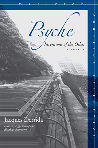 Psyche: Inventions of the Other, Volume II (Meridian: Crossing Aestheics) von STANFORD UNIV PR
