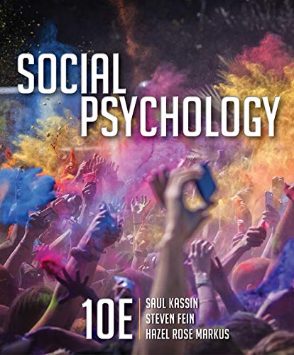 Social Psychology (Mindtap for Psychology) von Cengage Learning, Inc