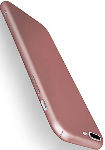moex Apple iPhone 7/8 Plus | Hülle Rose-Gold Alpha Back-Cover TPU Schutzhülle Dünn Handyhülle für iPhone 7/8 + Plus Case Ultra-Slim Thin Skin Handy Schutz Rückseite von moex