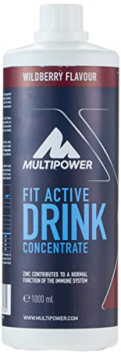 Multipower Fit Active Drink Concentrate Wildberry, 1 l von Multipower