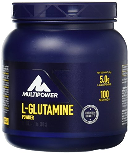 Multipower L-Glutamine Powder, Geschmacksneutral, 1er Pack (1 x 500 g) von Multipower