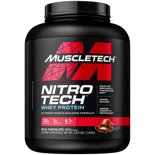 Muscletech Nitro-Tech Performance Series - Milk Chocolate, 1er Pack (1 x 1.8 kg) von MuscleTech