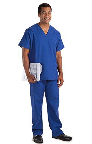 NCD Medical Tunika Short Sleeve BLAU ROYAL Größe 2 x L von NCD Medical