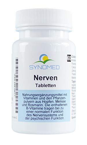 Nerven Tabletten, 60 Tabletten (30 g) von SYNOMED