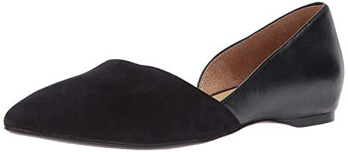 Naturalizer Women's Samantha Ballet Flat, Black, 9.5 M US von Naturalizer