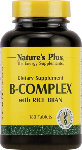 B-Complex Rice Bran (Reiskleie) 180 Tabletten NP von Nature's Plus