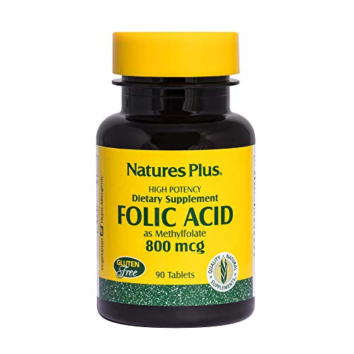 Folic Acid / Folsäure 800 mcg 90 Tabletten NP (vegan) von Nature's Plus