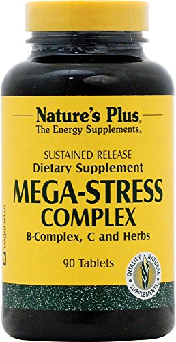 Mega-Stress Complex 90 Tabletten S/R NP von Nature's Plus