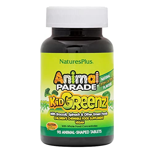 Nature's Plus - Animal Parade Kid Greenz, 250 mg, 90 chewable tablets von Nature's Plus