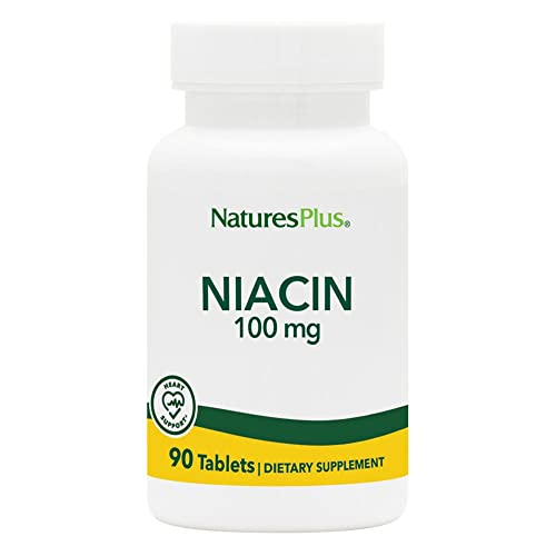 Niacin (Vitamin B-3) 100 mg 90 Tabletten NP von Nature's Plus