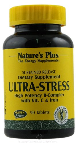 Natures Plus Ultra Stress with Iron - Sustained Release 90 Tabletten S/R von Natures Plus