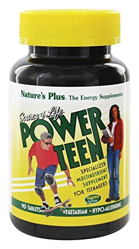 Natures Plus Source of Life® Power Teen 90 Tabletten (143,5g) von Natures Plus