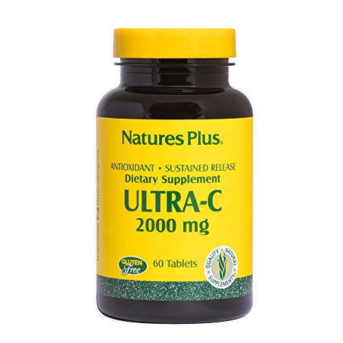 Ultra C Rose Hips 2000 mg 60 Tabletten S/R NP von Natures Plus