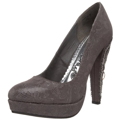 Naughty Monkey Damen Entourage Plateau Pumps, Grau (grau), 41 EU von Naughty Monkey