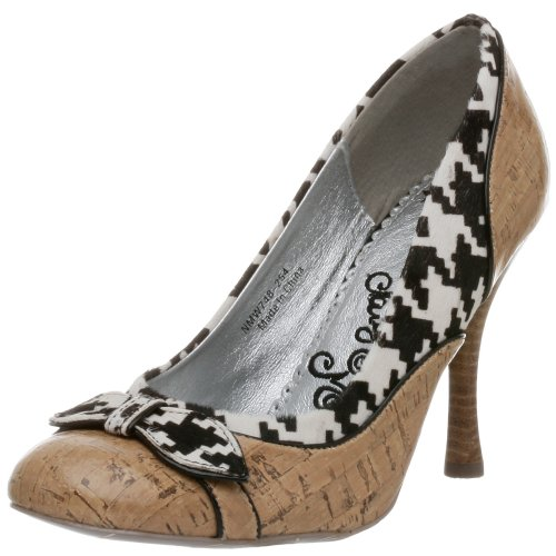 Naughty Monkey Damen London Pumps, Beige (Braun/Schwarz), 36 EU von Naughty Monkey