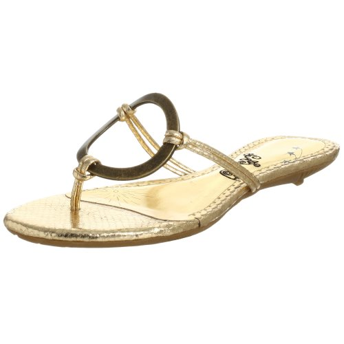 Naughty Monkey Damen Loop De Loop Sandalen, Gold (Gold), 39 EU von Naughty Monkey