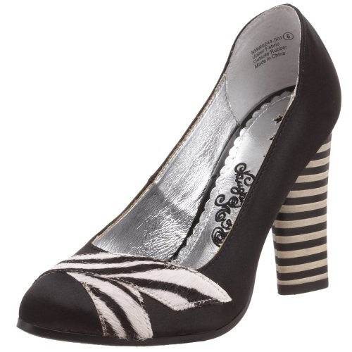 Naughty Monkey Damen Mix Up Pumps, Schwarz (schwarz), 38 EU von Naughty Monkey