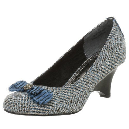 Naughty Monkey Damen Nip Tuck Keilabsatz Pumps, Blau (blau), 37.5 EU von Naughty Monkey