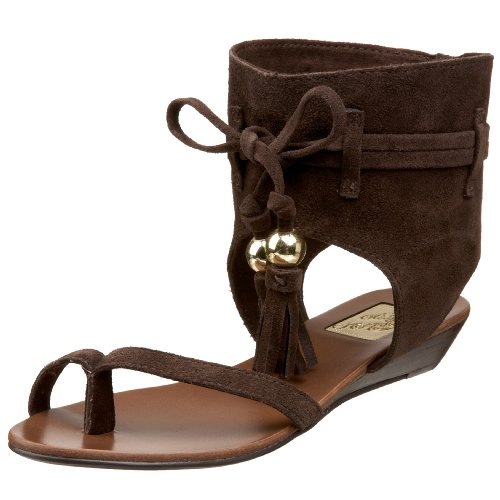 Naughty Monkey Damen On The Fringe Sandalen, Braun (Schokoladenbraun), 41 EU von Naughty Monkey