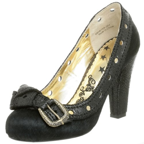 Naughty Monkey Damen Vintage Pumps, Schwarz (schwarz), 37 EU von Naughty Monkey