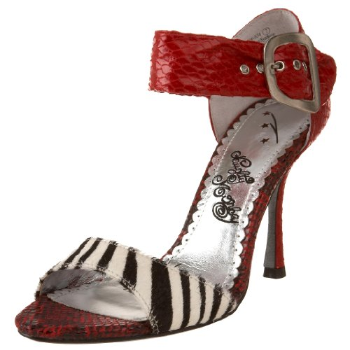 Naughty Monkey Guilt Trip 2 Damen-Sandalen, Rot (rot), 37 EU von Naughty Monkey
