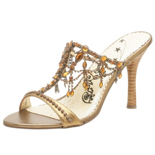 Naughty Monkey Justine Damen-Sandalen, Gold (Bronze), 40.5 EU von Naughty Monkey
