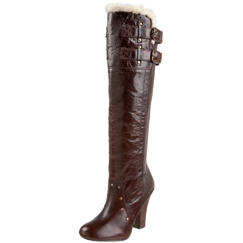 Naughty Monkey Leap of Faith Damen Stiefel, Braun (Schokoladenbraun), 37.5 EU von Naughty Monkey