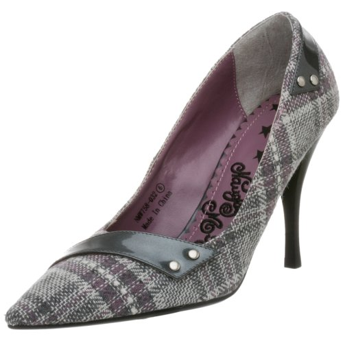 Naughty Monkey Somebody Shake Me Pumps, für Damen, Grau (grau), 40 EU von Naughty Monkey