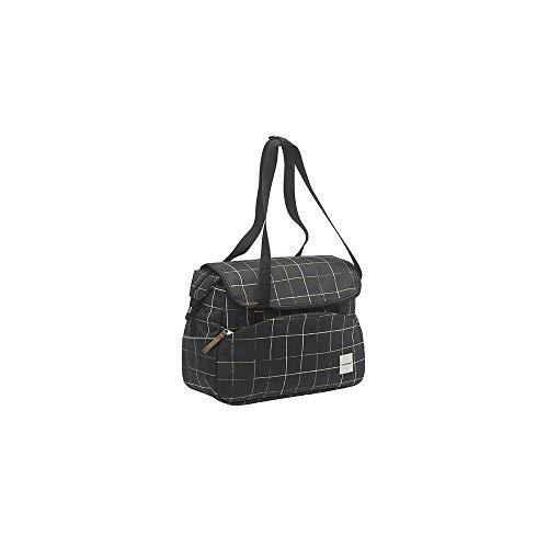 41 x 30 x 16 cm Black New Looxs Single Pannier 2 Lock Basic Gep/äcktr/ägertasche
